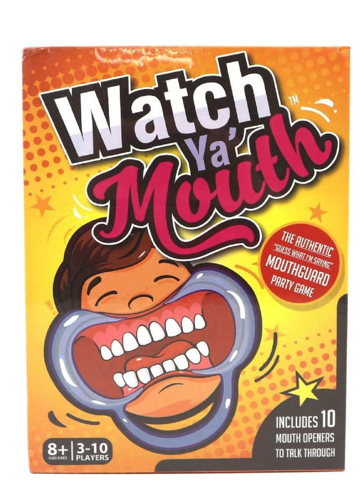 Watch Ya Mouth Family Christmas Game